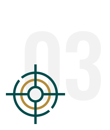 Feature 3 Goal Oriented Target Icon